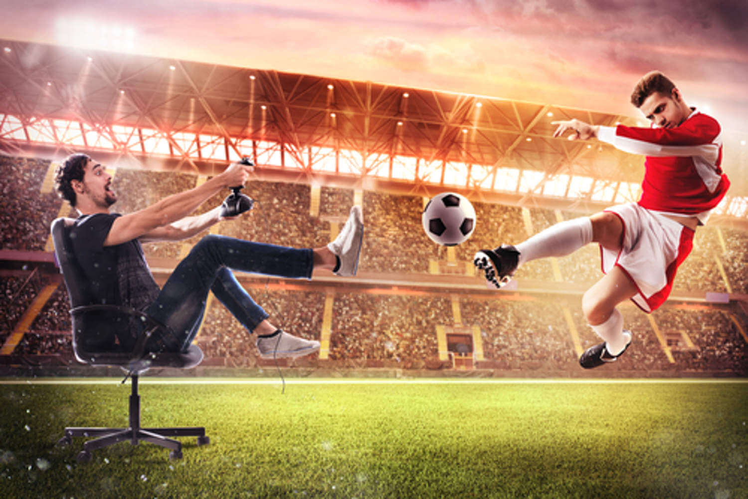 The Advantages Of An Online Football Bet